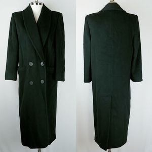 Vintage Christian Dior 80's Lambs Wool Trench Coat